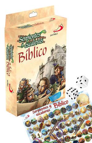 SERPIENTES Y ESCALERAS BÍBLICO