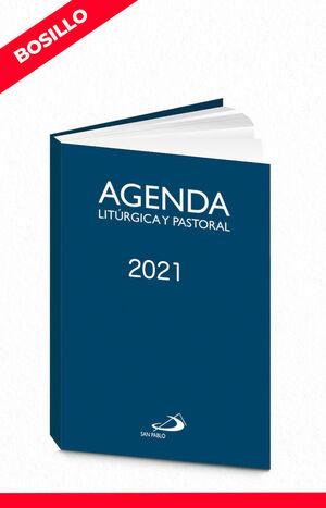 AGENDA LITURGICA Y PASTORAL 2021 (BOLSILLO)