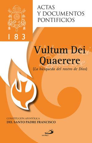 LA BÚSQUEDA DEL ROSTRO DE DIOS (183)