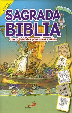 SAGRADA BIBLIA CON ACTIVIDADES PARA NIÑOS Y NIÑAS