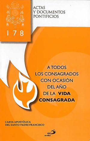 A TODOS LOS CONSAGRADOS CON OCASIÓN DEL AÑOS DE LA VIDA CONSAGRADA (178)