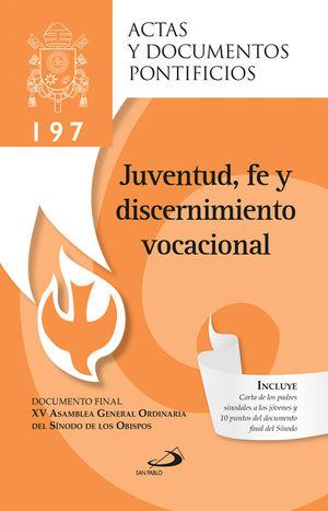 JUVENTUD, FE Y DISCERNIMIENTO VOCACIONAL
