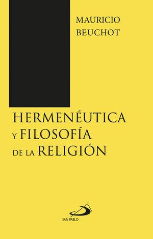 HERMENÉUTICA Y FILOSOFÍA DE LA RELIGIÓN