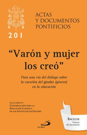 VARÓN Y MUJER LOS CREÓ (201)