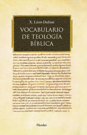 VOCABULARIO DE TEOLOGÍA BÍBLICA