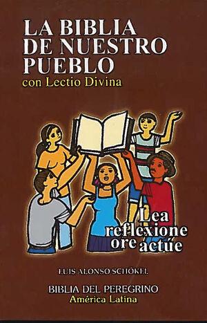 LA BIBLIA DE NUESTRO PUEBLO, CON LECTIO DIVINA (BOLSILLO, PASTA DURA)