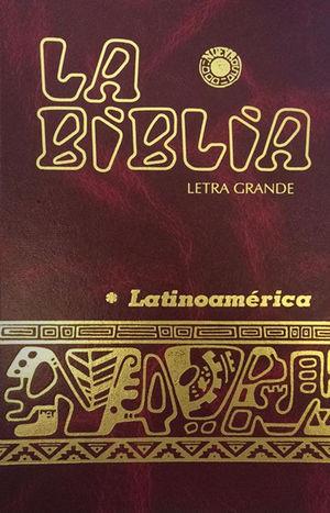LA BIBLIA LATINOAMÉRICANA, LETRA GRANDE (COLOR)