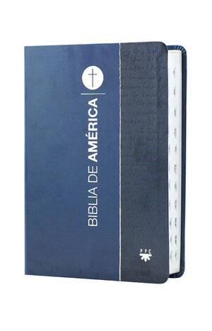 BIBLIA DE AMÉRICA MANUAL, AZUL FLEXIBLE