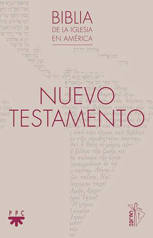 NUEVO TESTAMENTO, BIBLIA DE LA IGLESIA EN AMÉRICA RÚSTICO