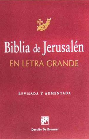 BIBLIA DE JERUSALEN, EN LETRA GRANDE