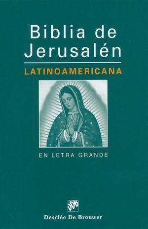 BIBLIA DE JERUSALÉN LATINOAMERICANA
