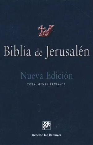 BIBLIA DE JERUSALEN, MANUAL 4TA EDICION