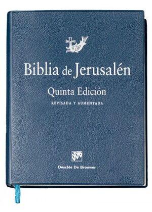 BIBLIA DE JERUSALEN, MANUAL 5TA EDICION