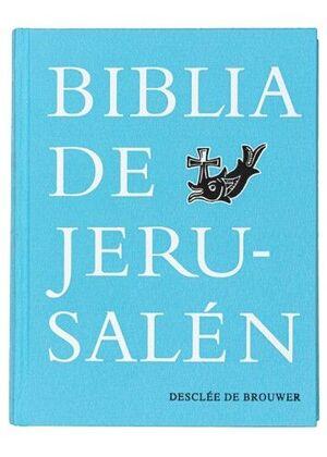 BIBLIA DE JERUSALÉN, MANUAL 5TA EDICIÓN