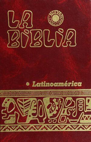 LA BIBLIA LATINOAMERICANA / BOLSILLO, COLOR