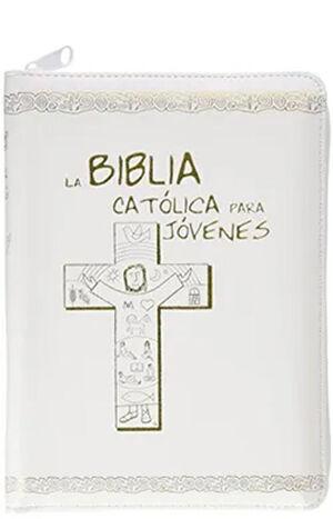 LA BIBLIA CATÓLICA PARA JÓVENES, JUNIOR BLANCA
