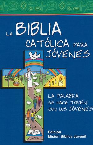 LA BIBLIA CATÓLICA PARA JÓVENES, BLANCO Y NEGRO (JUNIOR)