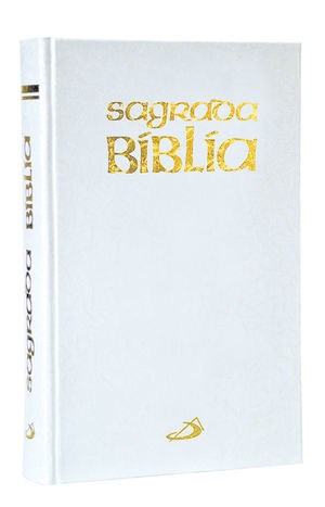 SAGRADA BIBLIA, BLANCA SIN MOTIVO