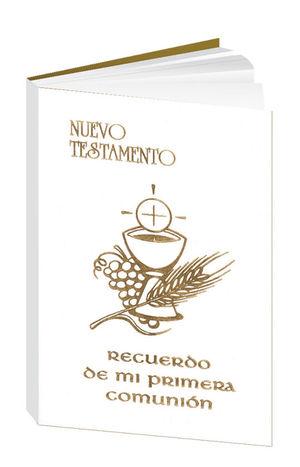 NUEVO TESTAMENTO, RECUERDO DE MI PRIMERA COMUNIÓN (PLÁSTICO)