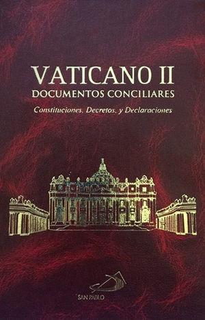 VATICANO II DOCUMENTOS CONCILIARES / PASTA DURA