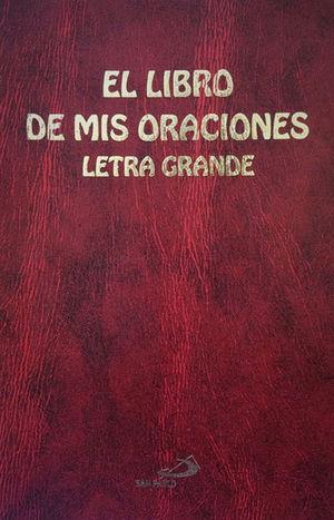 EL LIBRO DE MIS ORACIONES (LETRA GRANDE, VINIL ROJO)