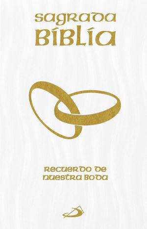SAGRADA BIBLIA, RECUERDO DE NUESTRA BODA