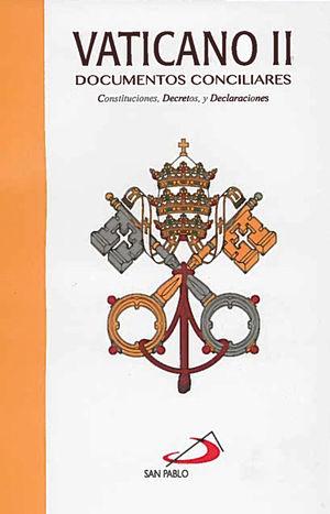 VATICANO II DOCUMENTOS CONCILIARES / MICA