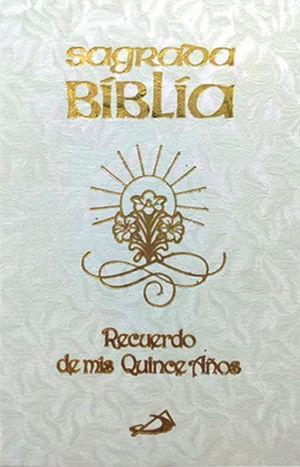 SAGRADA BIBLIA XV AÑOS BLANCA, BOLSILLO