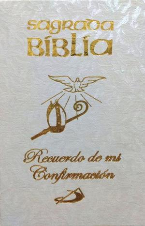 SAGRADA BIBLIA CONFIRMACIÓN BLANCA, BOLSILLO