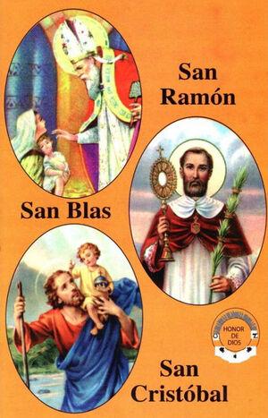 SAN BLAS, SAN RAMÓN NONATO Y SAN CRISTOBAL