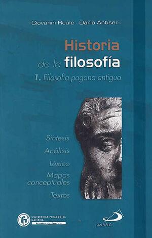 HISTORIA DE LA FILOSOFÍA 1