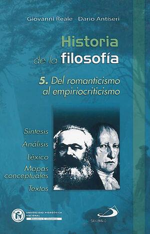 HISTORIA DE LA FILOSOFÍA 5