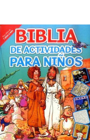 BIBLIA DE ACTIVIDADES PARA NIÑOS