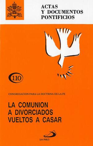 LA COMUNIÓN A DIVORCIADOS VUELTOS A CASAR (110)