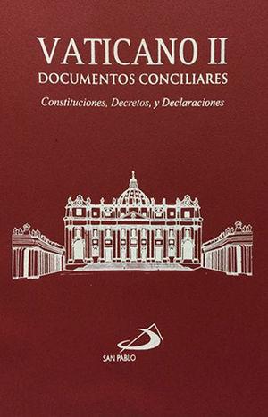 VATICANO II DOCUMENTOS CONCILIARES / VINIL