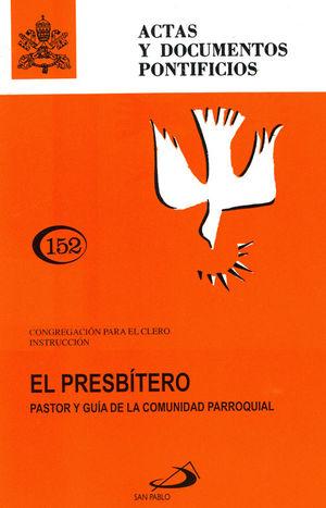 EL PRESBÍTERO PASTOR Y GUÍA (152)
