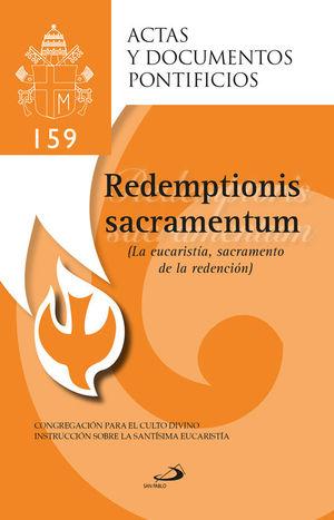 LA EUCARISTÍA SACRAMENTO DE LA REDENCIÓN (159)