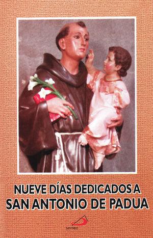 NUEVE DIAS DEDICADOS A SAN ANTONIO DE PADUA