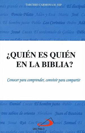¿QUIÉN ES QUIÉN EN LA BIBLIA?